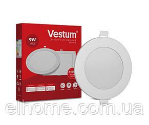 Светильник LED врезной круглый 9W 4000K 220V ТМ Vestum