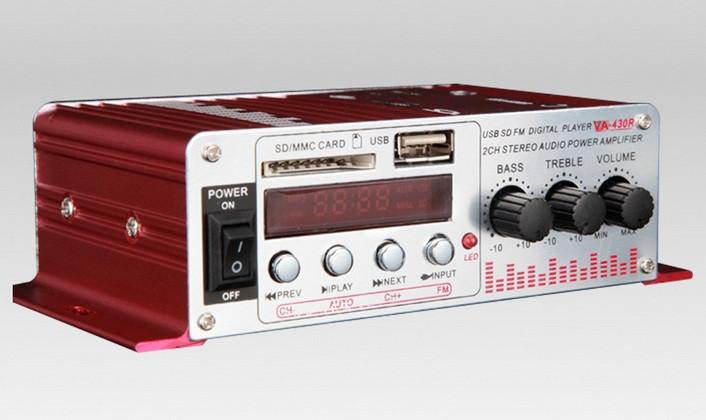 Усилитель мощности звука автомобильный, двухканальный  Yamaha VA-430R