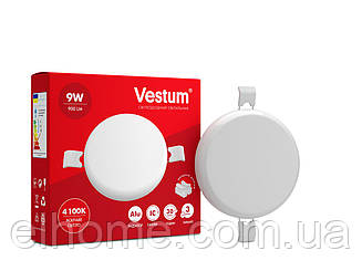 Светильник LED без рамки круг 9W 4100K TM Vestum