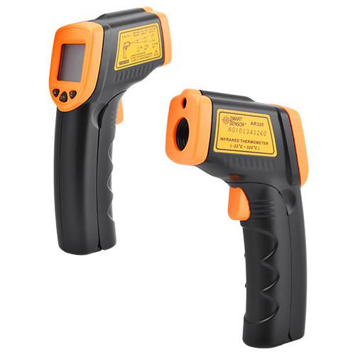 Профессиональный бесконтактный градусник TEMPERATURE AR 320, промышленный инфракрасный термометр,