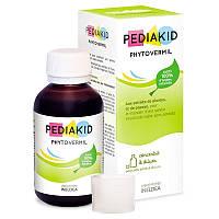 Натуральный противоглистный питьевой препарат Фитовермил Pediakid,125 мл