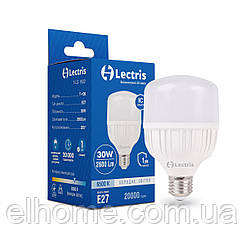 Лампа LEDT100 30W 6500K 220V E27 Lectris