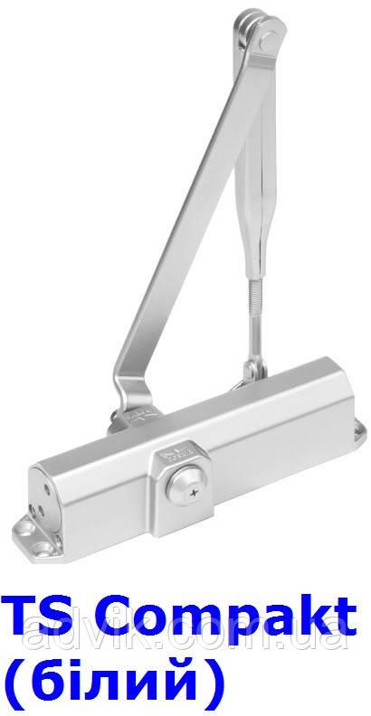 Доводчик Dorma TS Compakt EN 2/3/4 з важільною тягою (білий)