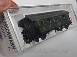 Fleischmann 855864 модель 2х осного пассажирского вагона типа  BCi-28,II-III класса, эпоха DRG, масштаба 1/87, фото 2