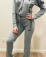 Женский спортивный костюм Nike серый. Жіночий спортивний костюм Nike сірий.
