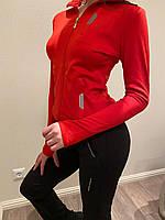Женский спортивный костюм PORSCHE красный. Жіночий спортивний костюм PORSCHE червоний.