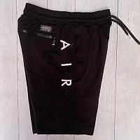 Мужские спортивные шорты Nike черный. Чоловічі спортивні шорти Nike чорний.