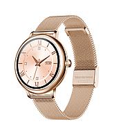 Умные часы Lemfo CF80 Metal с измерением давления (Золотой), фото 1
