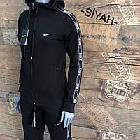 Женский спортивный костюм Nike черный. Жіночий спортивний костюм Nike чорний.