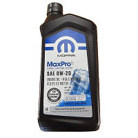 Моторное масло MOPAR MaxPro 0W-20 946 мл, 68218950AC, фото 1