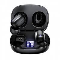 Беспроводные Bluetooth наушники Joyroom JR-TL5 TWS With Display Black