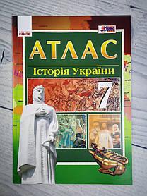 Атлас Історія України 7 кл. Г900248У Ранок Україна