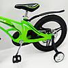 ✅ Детский Двухколесный Магнезиевый Велосипед MARS 18 Дюйм Зеленый, фото 3