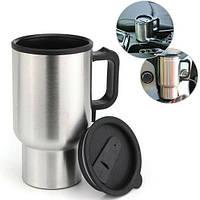 Термокружка ELECTRIC MUG, Автомобільна гуртка з підігрівом Electric Mug, Кружка з підігрівом