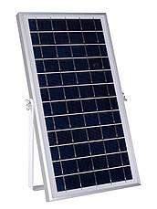 Уличный прожектор на солнечной батарее FOYU 300W Черный (FO-58300), фото 2
