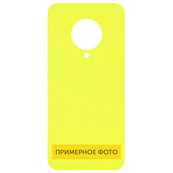 Чехол Silicone Cover Full without Logo (A) для Oppo A53 Желтый / Flash