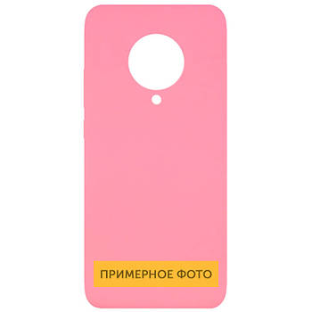 Чехол Silicone Cover Full without Logo (A) для Oppo A53 Розовый / Pink