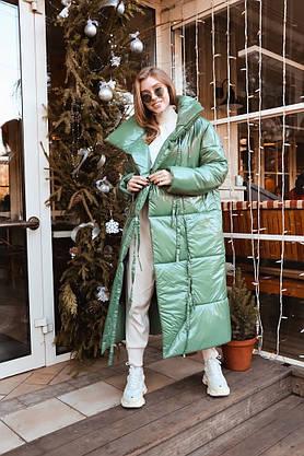 Стильное объемное пальто-одеяло в стиле oversize, фото 3
