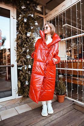 Стильное объемное пальто-одеяло в стиле oversize, фото 2