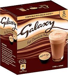 -50 грн (7 капсул из 8 с упаковкой!) Dolce Gusto Galaxy - Mars  - ШОКОЛАД в капсулах Дольче Густо 8 порций