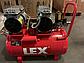 Компрессор Lex 60 л, 2.25 кВт, 220 В, 7 атм, 360 л/мин, малошумный, безмасляный, 4 цилиндра, фото 2