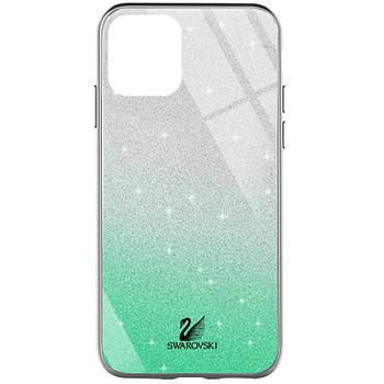 "TPU+Glass чехол Swarovski для Apple iPhone 12 mini (5.4"")"