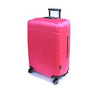 Чехол для среднего чемодана на 4-х колесах Coverbag розовый, фото 1