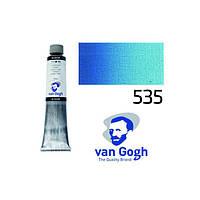 Краска масляная Royal Talens Van Gogh (535) 200мл церулеум голубой фц (8712079326678)
