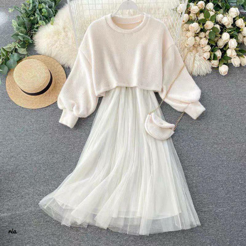 Платье женское с сумочкой