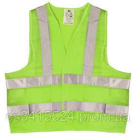 Жилет безопасности светоотражающий (green) 116 G XL (ЖБ002)