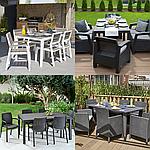 Садовые столы и стулья на 6 человек - какой выбрать?