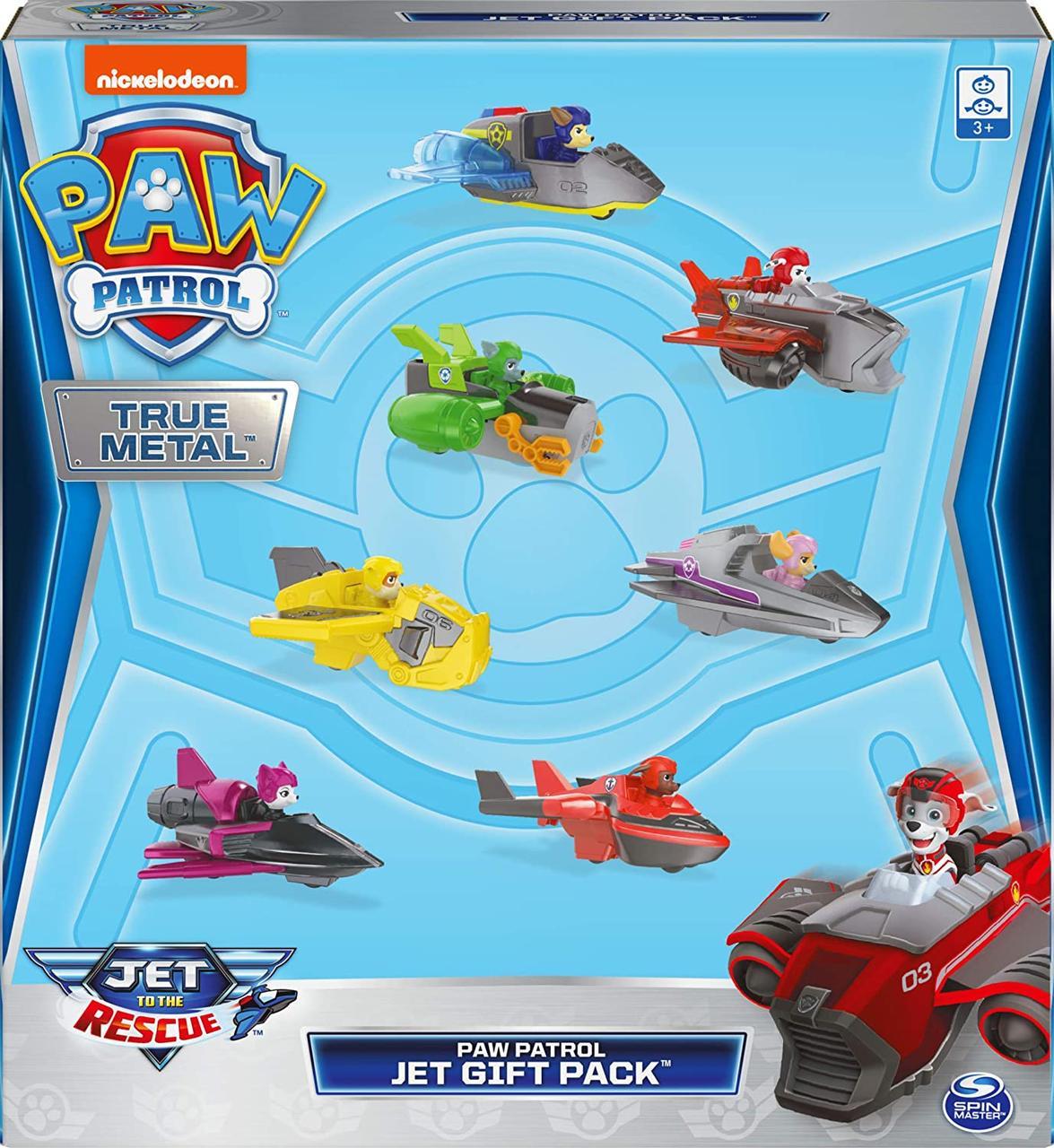 Игровой набор Щенячий патруль True Metal Jet to The Rescue оригинал от Spin Master