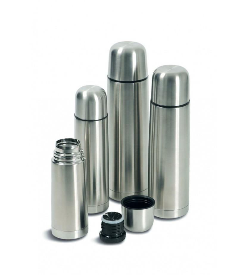 Термос металлический с чехлом UNIQUE UN-1003- 0.5л.