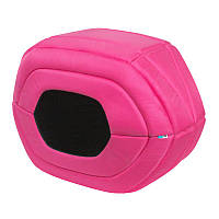 Домик AiryVest для домашних животных М розовый 00897 (4823089322230)