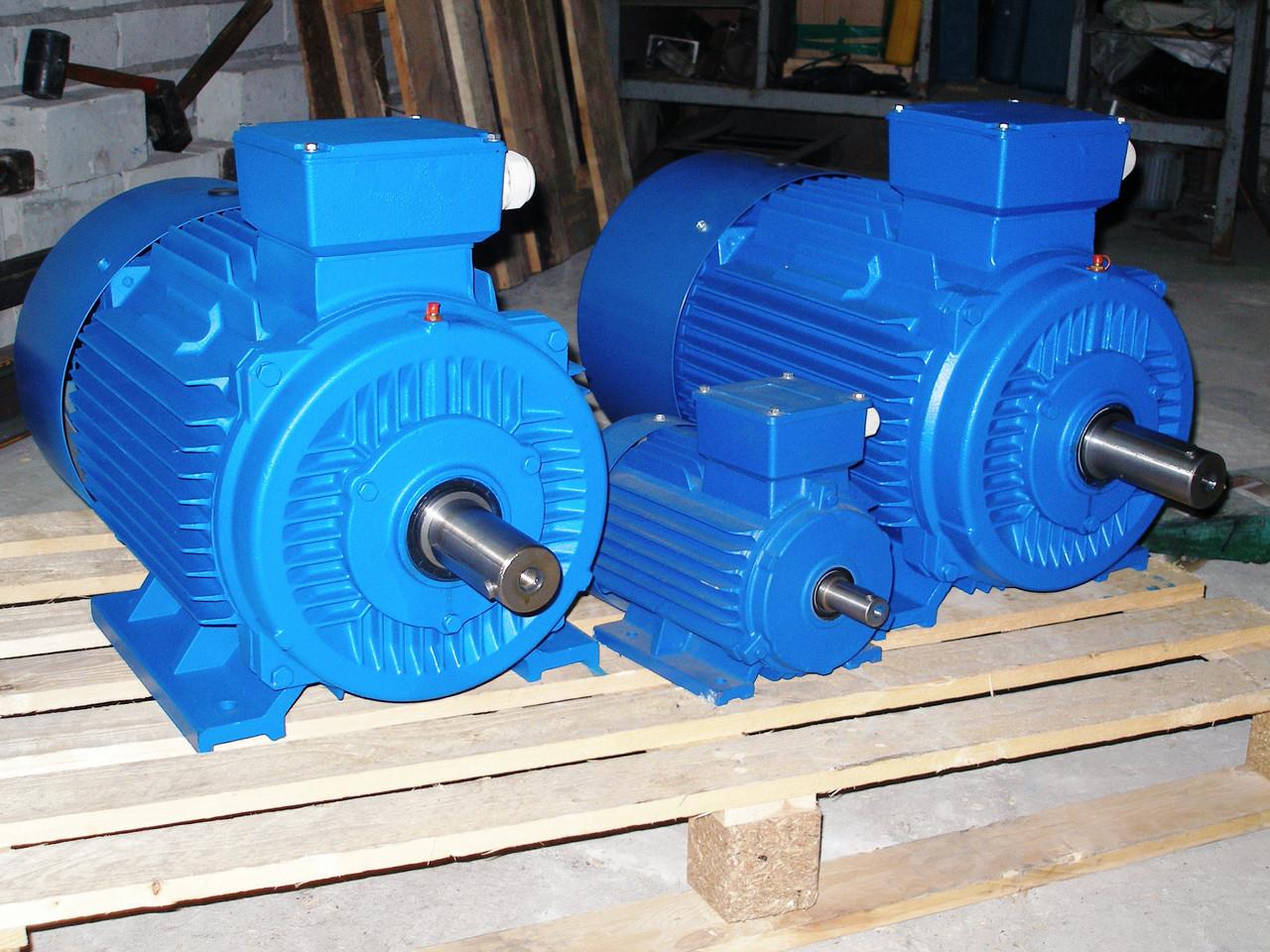 Двигатель асинхронный  ( АИР 180) 22 кВт/3000 об.мин