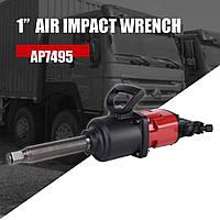 Пневмогайковерт 1 для грузового шиномонтажа колес автомобилей 3480N/m 2800об длинный шпиндель AEROPRO RP7495