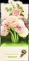 Ручка ПИОНЫ (pencil-flowers, PF2)