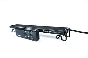 LED-світильник для морських і псевдоморских акваріумів AquaLighter Marinescape чорний 60 см двоканальний 8785
