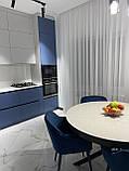 Кухня модерн с матовыми крашеными фасадами, фото 2