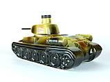 Танк - подарочная бутылка в виде танка в комплекте с рюмками, фото 8