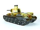 Танк - подарочная бутылка в виде танка в комплекте с рюмками, фото 9
