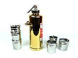 Огнетушитель золотой - подарочный набор для спиртного, фото 3