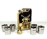 Золотая канистра - подарочный набор для спиртного, фото 2