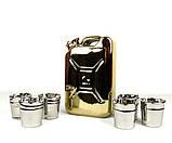 Золотая канистра - подарочный набор для спиртного, фото 3