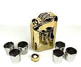 Золотая канистра - подарочный набор для спиртного, фото 6