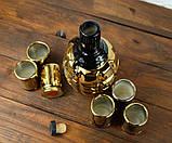 Граната Ф1 золотая - подарочный набор для спиртного, фото 3