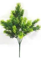 """Кущ з зеленими верхівками 35см""""ялівець"""",штучна зелень., фото 1"""