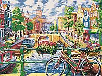"""Розпис по номерах""""Амстердам що зачаровує"""", 40*50см. ТМ """"Santi"""""""