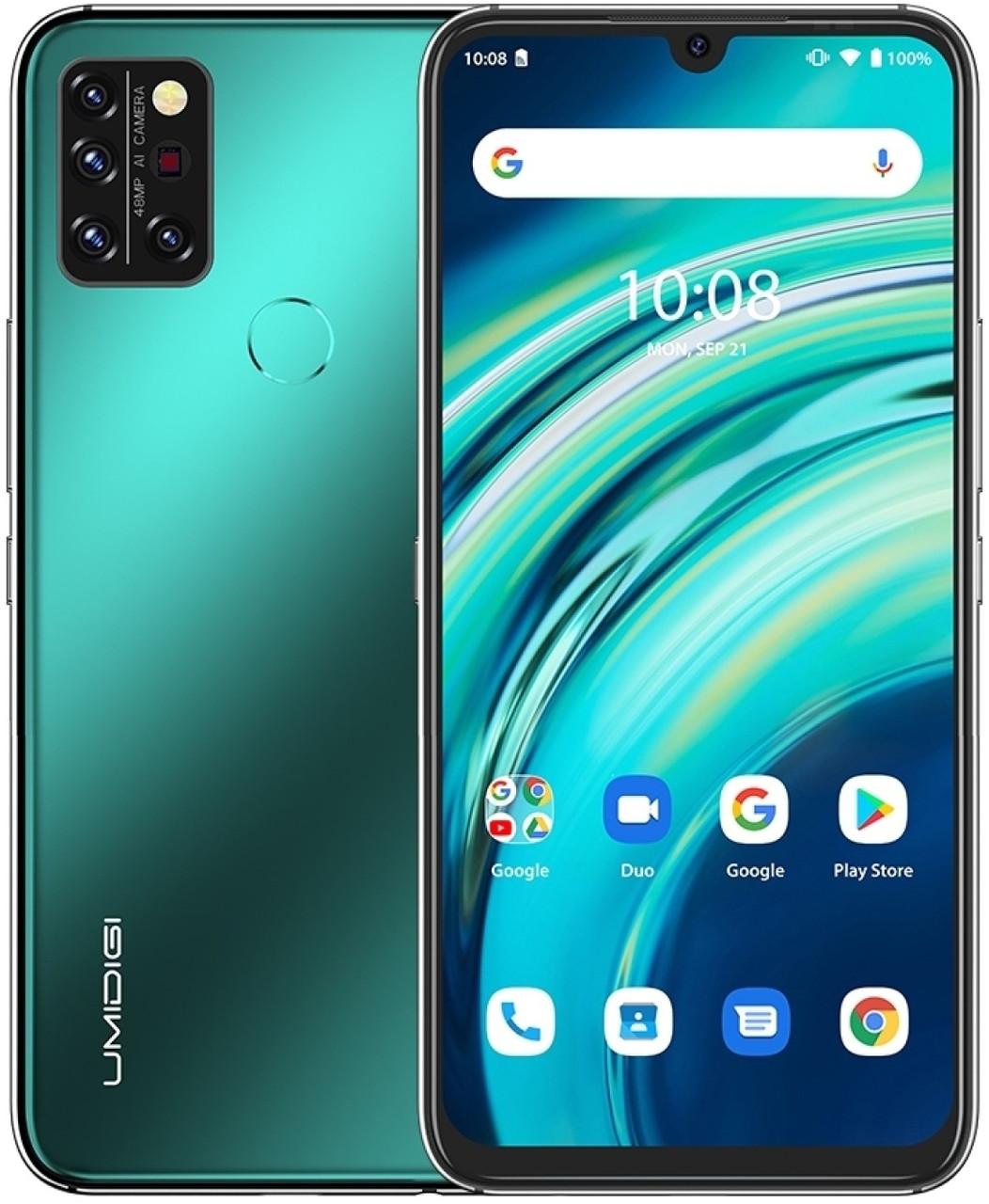 UMIDIGI A9 Pro | Green | 4/64 Гб | 32 MP | 4G/LTE | Гарантия