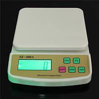 Весы кухонные SF-400A электронные, на батарейках с подсветкой экрана,товары для кухни,весы -кантеры,